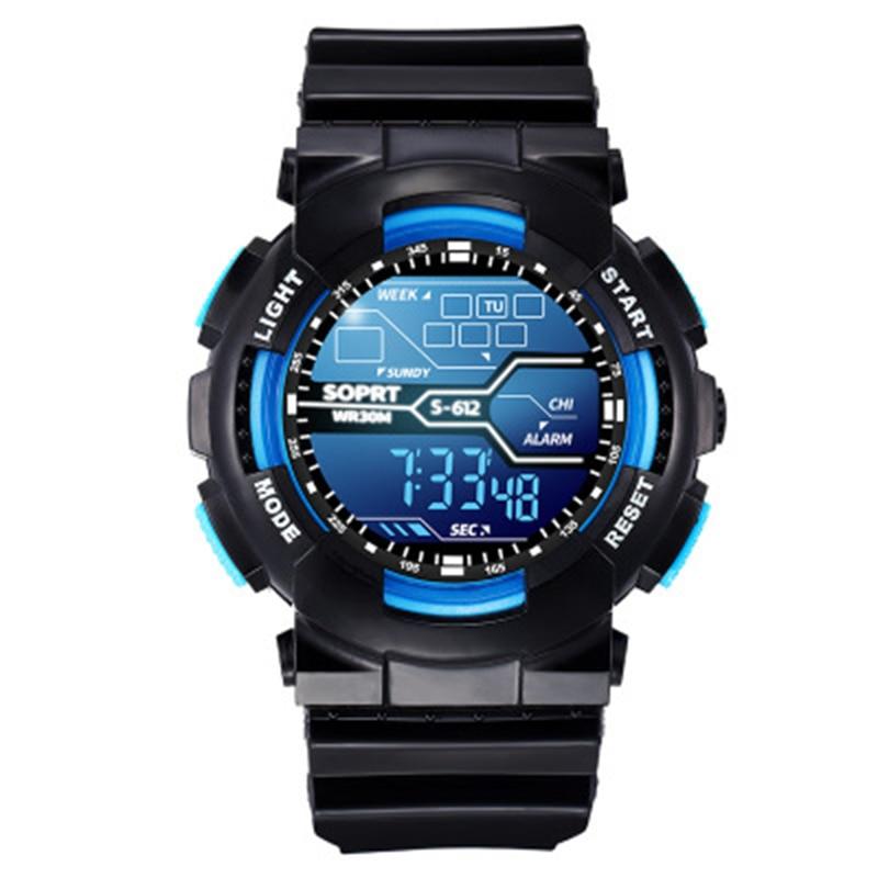 Children Watch Sport Digital Watches Multifunction Waterproof LED Electronic Wrist Kids Watches Boys Girls Student Fashion Gift