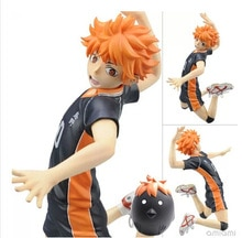 Haikyuu!! Hinata Syouyou 10 # Kageyama Tobio 9 # AKARA TOMY jouer au volley-ball PVC Action figurine Collection modèle jouet poupée Brinquedos