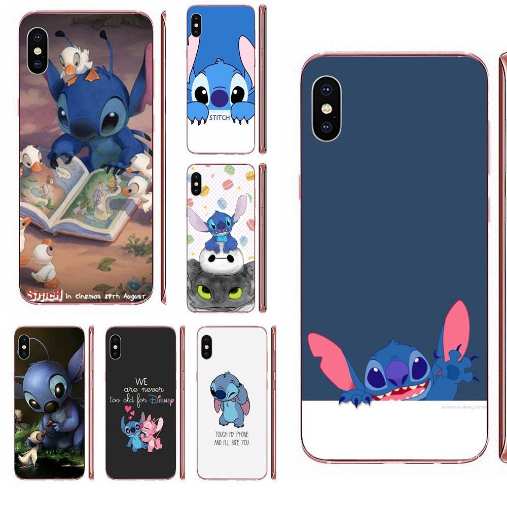 And Stich TPU Capa Cover Case For Huawei P7 P8 P9 P10 P20 P30 Lite Mini Plus Pro Y9 Prime P Smart Z 2018 2019