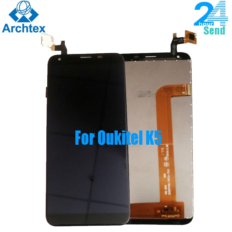 For Original Oukitel K5 LCD in Mobile phone LCD Display+Touch Screen Digitizer Assembly lcds +Tools