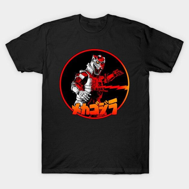 Camiseta de hombre gigante robot MACHINDER GOJIRA camiseta mujer camiseta