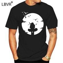 Hot Sell Fashion Uchiha Itachi T-shirt Hidden Leaf Village Anbu Black Ops Naruto Tee Anime T Print T Shirt Men