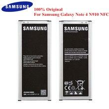 100% Оригинальный Батарея EB-BN910BBE для samsung Galaxy Note 4 N910A N910U N910F N910H N910G N910K N910L N910S N910C N910W8 NFC