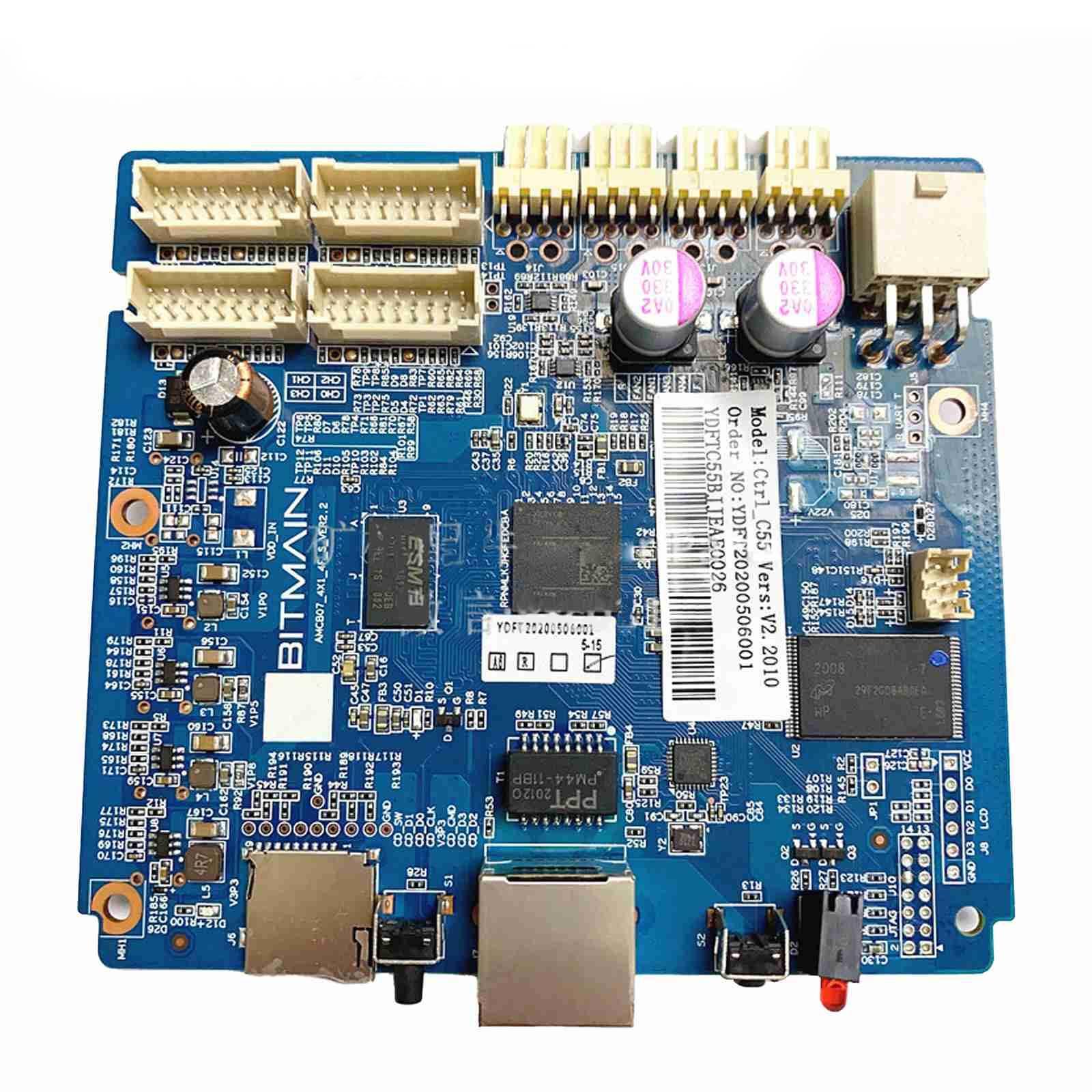 2021 جديد Antminer S19 S19 برو T19 لوحة تحكم BM1398BB ل S19/S19Pro/T19 الإلكترونية اللوحة
