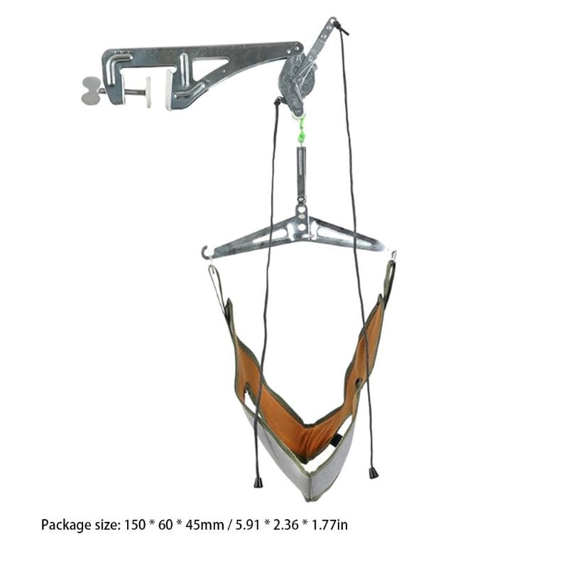 H7JC الرقبة مدلك الباب معلقة عنق الرحم جهاز سحب قابل للتعديل رئيس عنق الرحم