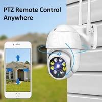 wifi camera 1080p hd cctv outdoor ip camera ai tracking 4x digital zoom surveillance rj45 wired mini speed dome cameras