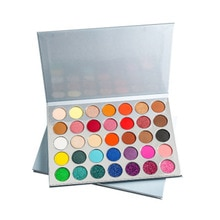 Fashion Women 9 color Makeup for Women Female Make Up Set Eyeshadow Girl Eye Shadow Y19822Pow