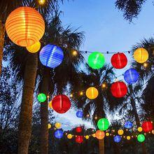 30 LED Christmas Solor Light Outdoor Warm White String Lights Lantern Solar Powered Waterproof Light Strip For Garden Decoration