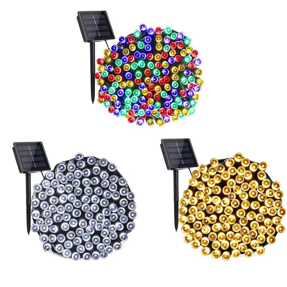 100/200led أضواء سلسلة اللون ، في الهواء الطلق حديقة الديكور حديقة الشمسية مصباح ليد الديكور في الهواء الطلق