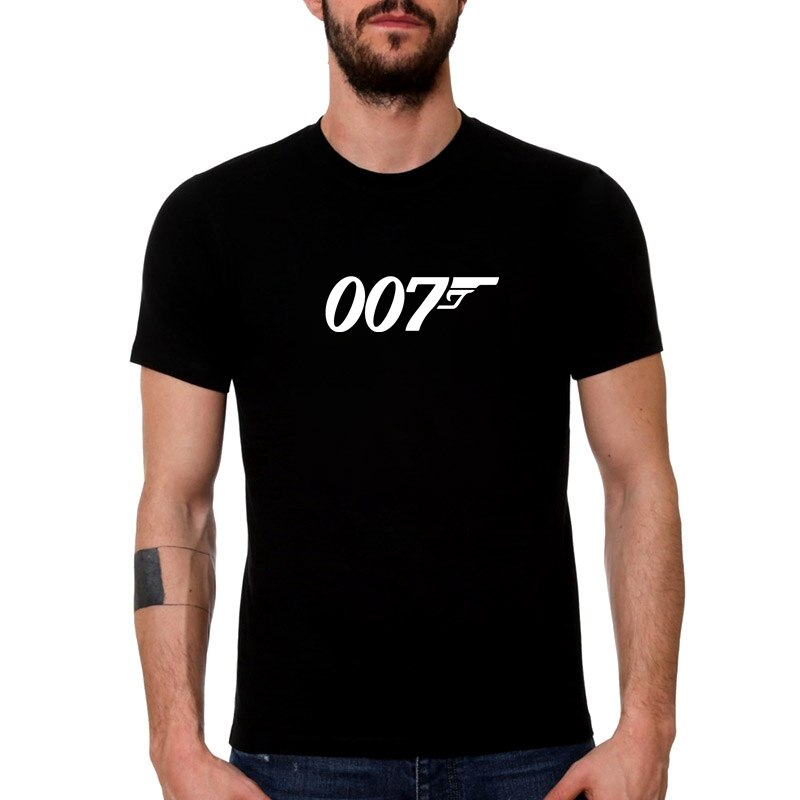 HT0063 #007 camiseta para hombre, camiseta para hombre, camiseta de verano, camiseta moderna de manga corta con cuello redondo