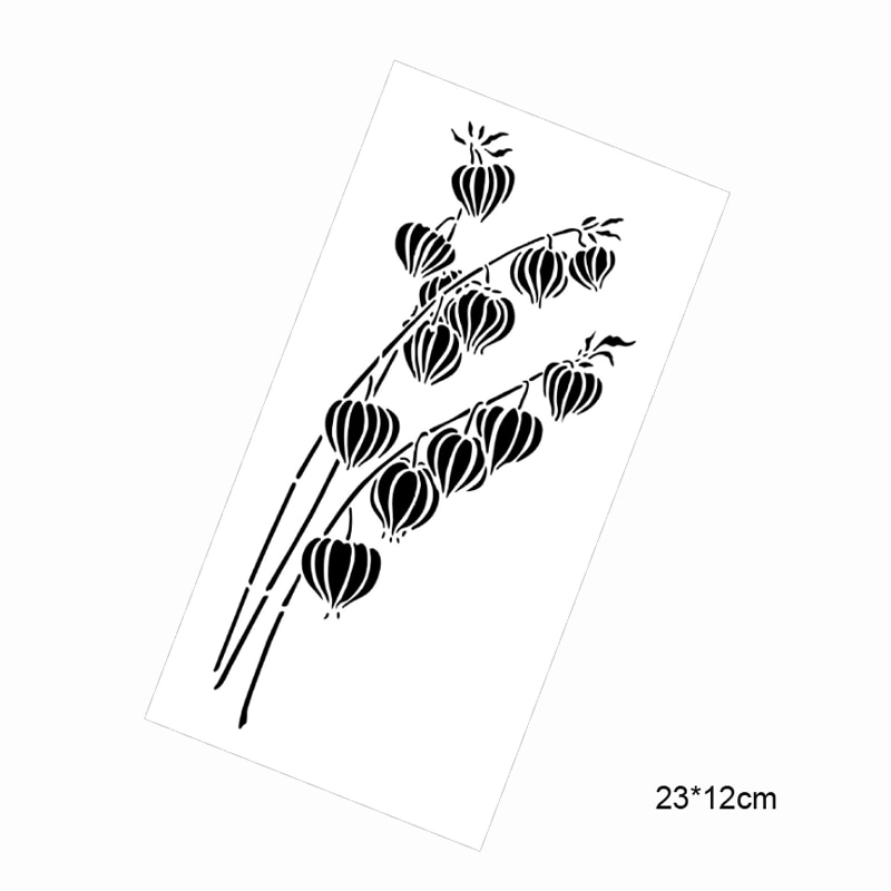 4 шт счастливый новый год Шаблон Линейка DIY трафареты пуля журнал каракули шаблон для рисования шаблон на Рождество