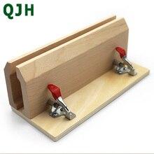 Hand-genähte Nähen Leder Handwerk Tisch Pony Clamp Leder Nähen Werkzeug DIY Leder Pony Buche Holz werkzeug