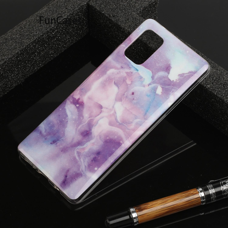 Funda de silicona suave para teléfono móvil Samsung A71 5G, carcasa deportiva...