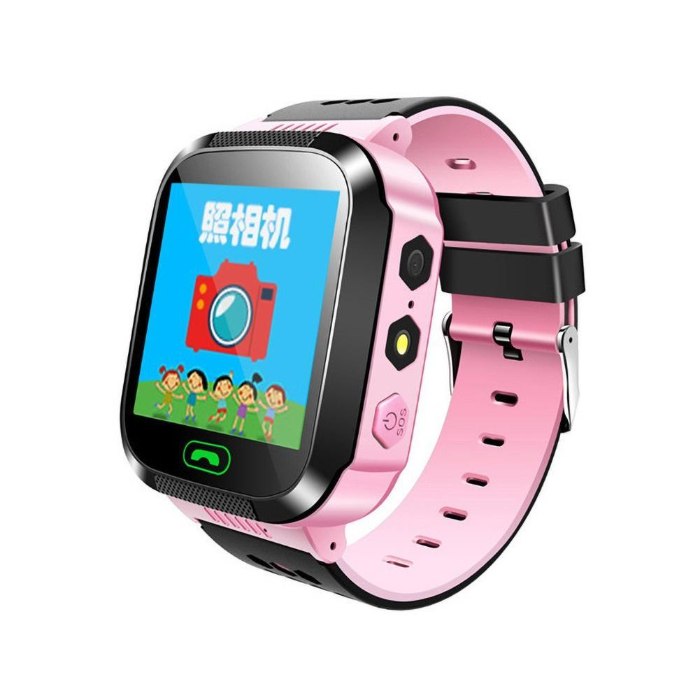 Q528 Smart Watch 1.44Inch Touch Screen With GPS Positioning SOS Camera Learning Lights Sports Watch For Kids Children Gifts