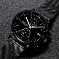 Top Brand Luxury Men Watches Military Quartz Wristwatches Fashion Relogio Masculino Famous Sports Dress Watch Clock Chronograph