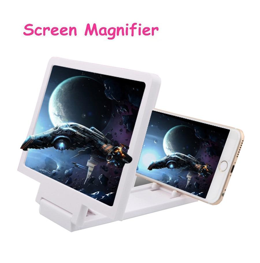 Amplificador de pantalla de vídeo 3D plegable soporte de expansión ampliado