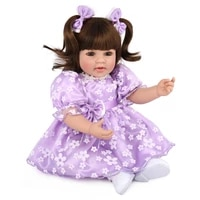 realisti princess reborn doll 20 realistic little girl 34 silicone and long hair newborn babies toy kids funny christmas gift