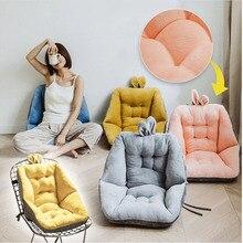 Comodidad Semi-cerrado un asiento cojín para silla de oficina de alivio del dolor cojín ciática asientos de las gradas con las espaldas y cojín
