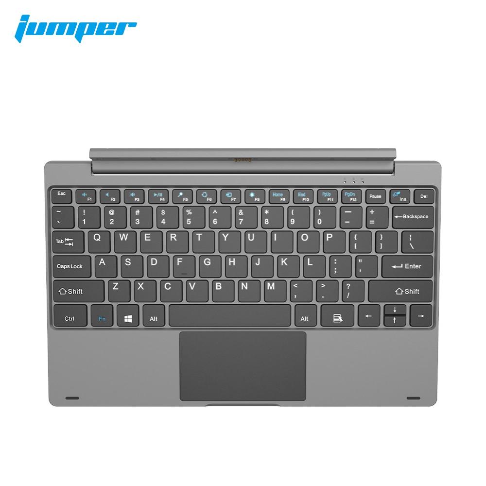 Jumper-EZpad Pro 8 tablet pc keyboard ، واجهة إرساء مغناطيسية ، تخطيط QWERTY ، يأتي مع لوحة مفاتيح تعمل باللمس
