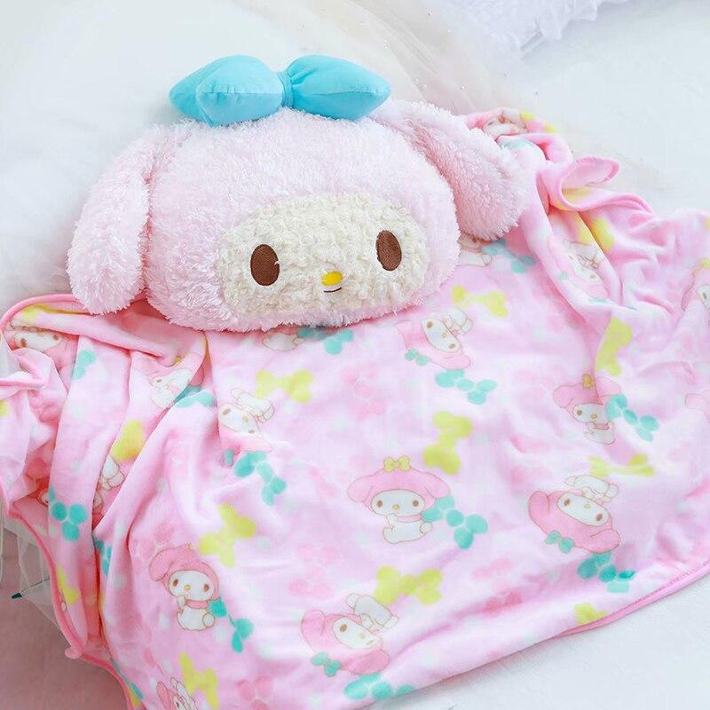 40cm encantadora melodía felpa de Anime manta cálida decoración suave cama casa almohada cobijas de sofá Unisex regalos Melody Juguetes