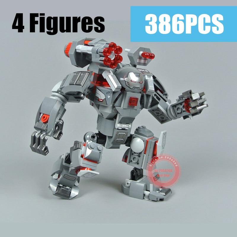 Novo super heróis homem de ferro máquina de guerra buster apto vingadores marvel endgame figuras blocos de construção tijolos crianças brinquedos natal