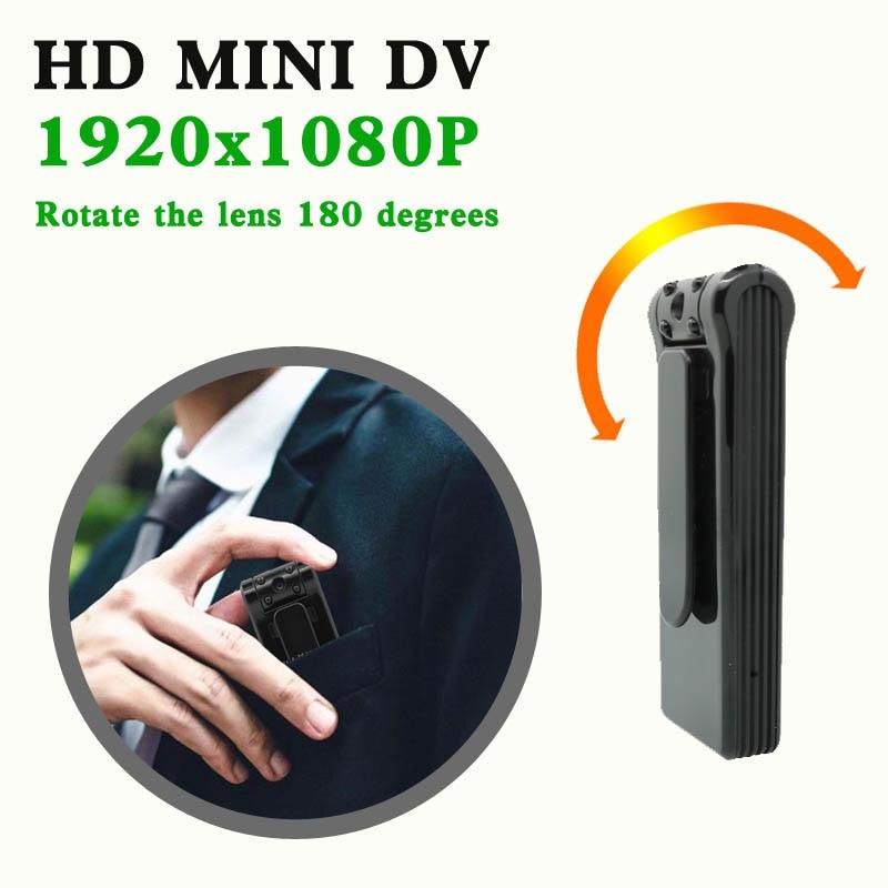 JOZUZE-كاميرا صغيرة محمولة B19 HD 1080P ، كاميرا فيديو رقمية صغيرة ، مسجل للرؤية الليلية ، كاميرا فيديو DVR مصغرة