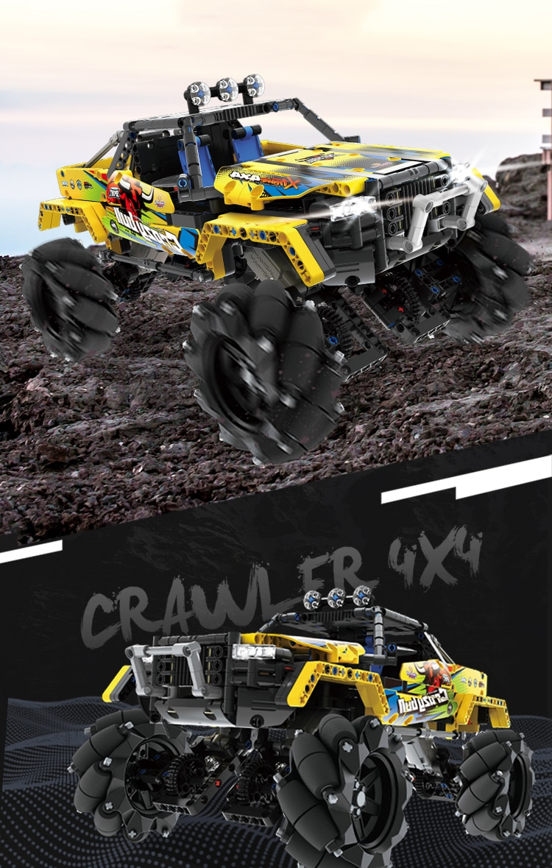 Technic 1030pcs Remote Control Drift Vehicle Building Blocks Off Road Motor Power Car Bricks Mecanum Wheels Children Toys Gifts Aliexpress