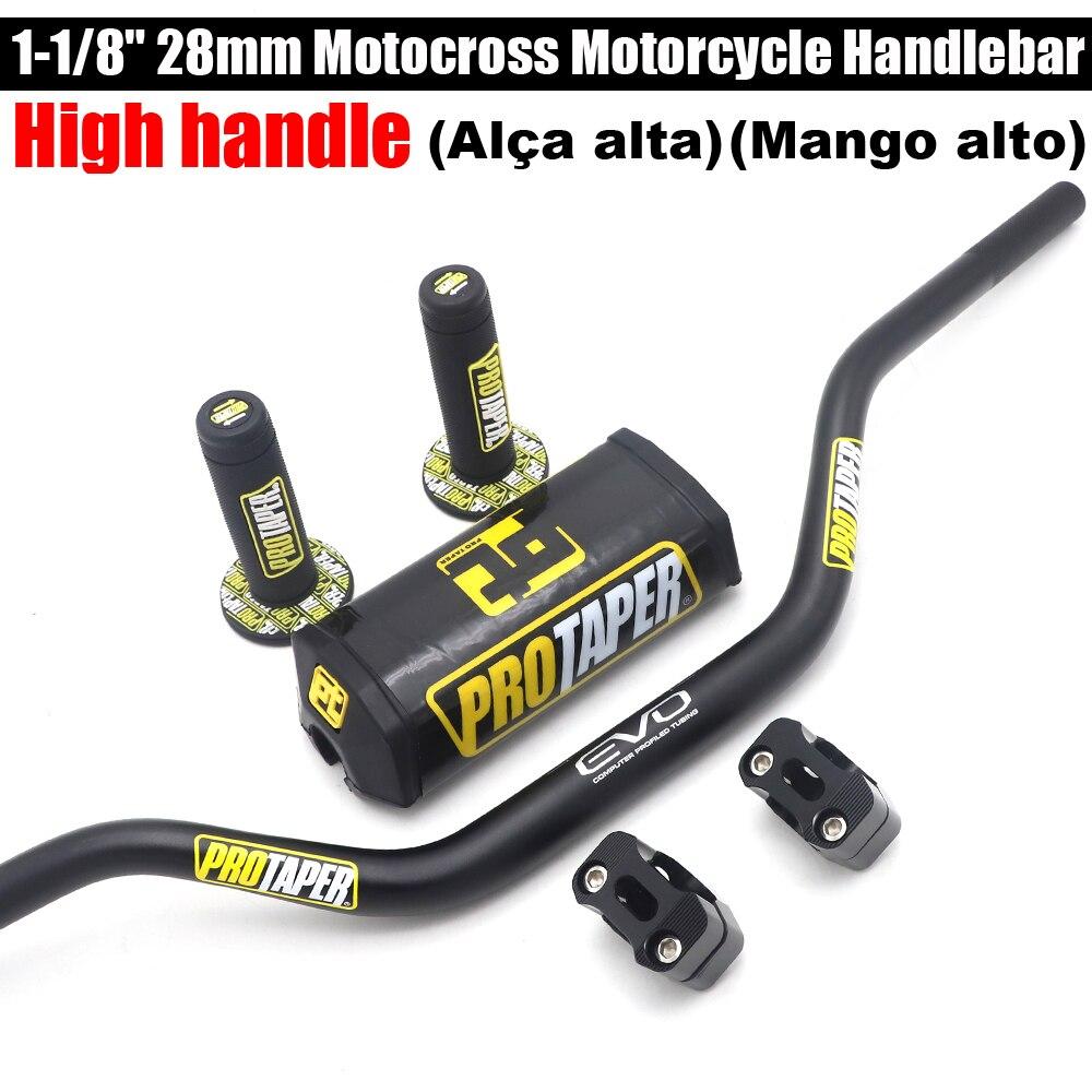 High handle Handlebar For PRO Taper Pack Bar 1-1/8