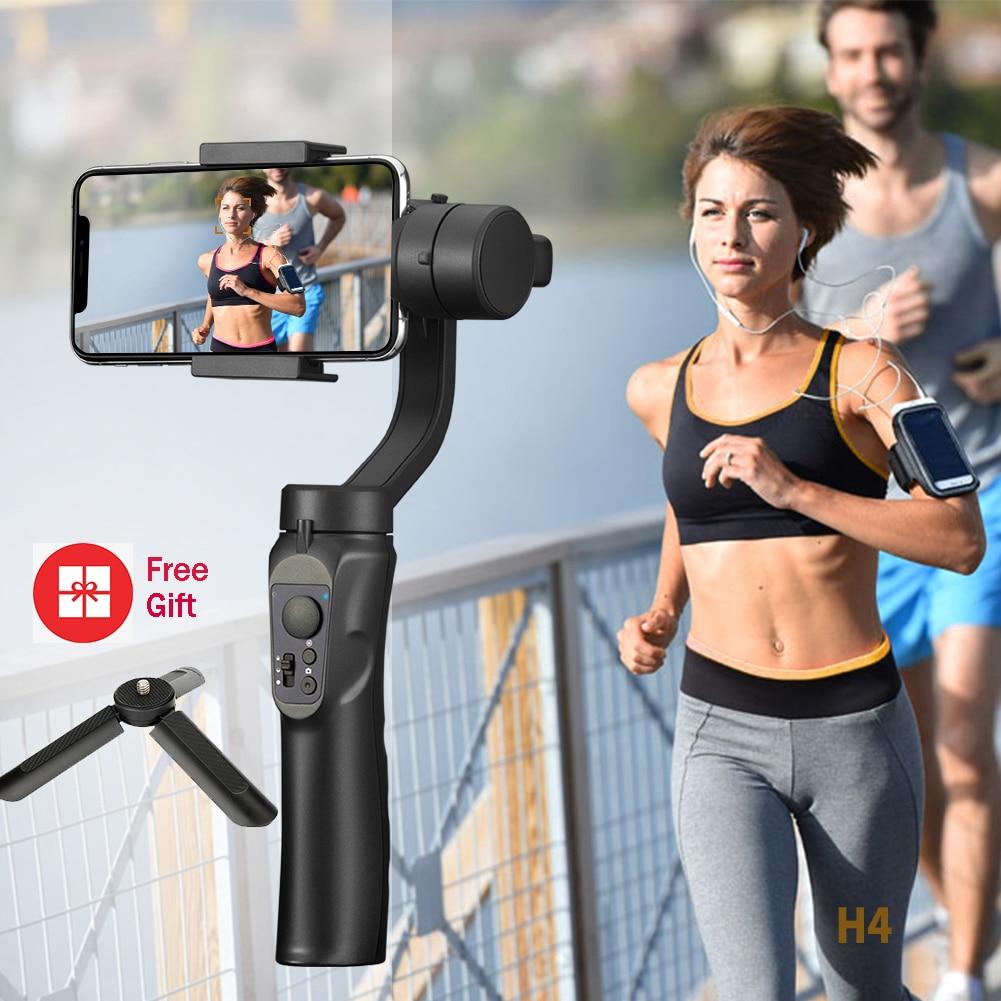 Glad 3-Axis Handheld Smartphone Gimbal Stabilizer Voor Iphone Handheld Gimbal Stabilizer Voor Huawei Xiaomi Samsung Actioncamera