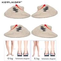 kotlikoff heel magnet massage insoles orthotic varus correct shoes insole xo type legs orthotic shoes pad adhesive inserts pad