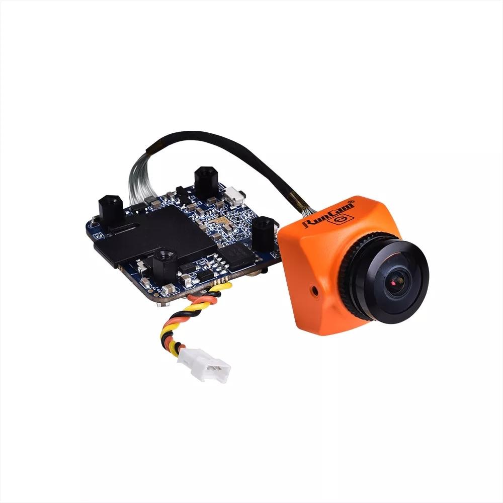 2019 Nova RunCam Divisão 3 Micro 1080P 60fps Gravação HD WDR Baixa Latência 169/43 NTSC/PAL câmera FPV Para RC Drone comutável