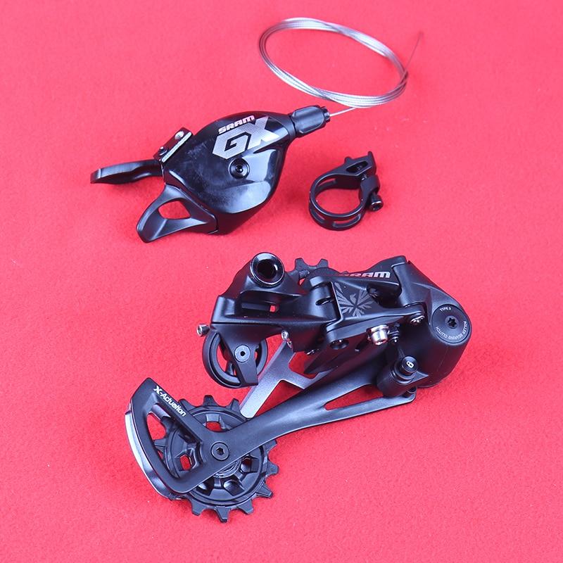 SRAM GX EAGLE 1X12S 12 скоростей MTB велосипедный набор для горного велосипеда, рычаг переключения, триггер, правая сторона, задний переключатель, черн...