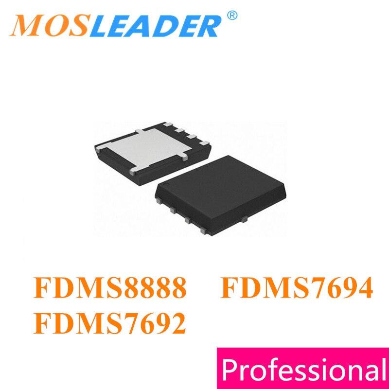 Mosleader FDMS8888 8888 FDMS7694 FDMS7692 DFN5X6 100 قطعة 1000 قطعة FDMS7692A QFN N-قناة صنع في الصين جودة عالية