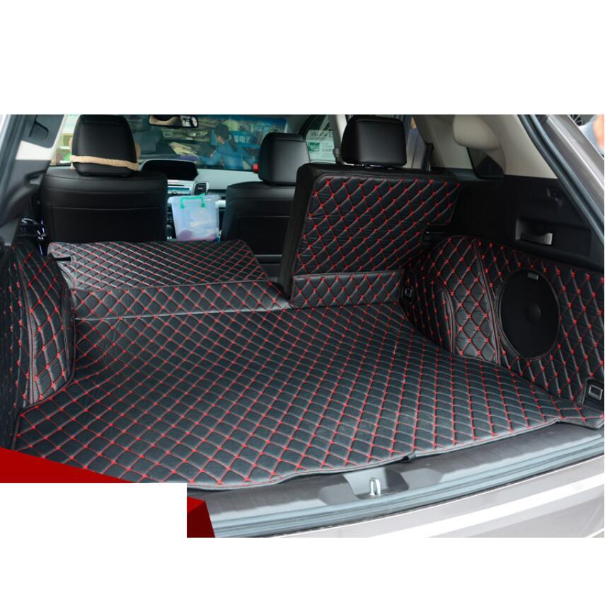 Alfombra de carga para maletero de coche alfombra de carga para Acura Rdx 2013 2014 2015 2016 2017 2018 5d alfombra de segunda generación