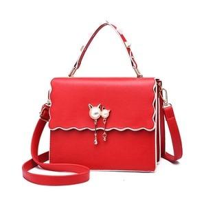 Women's bag 2020 new cat ear pendant bag female cool wave female bag slung shoulder bag handbag female