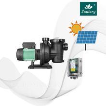 Pompe DHL pour piscine et piscine   Pompe à eau solaire DC, modèle 17m 3/h-15m, modèle SJP17/15-D48/500