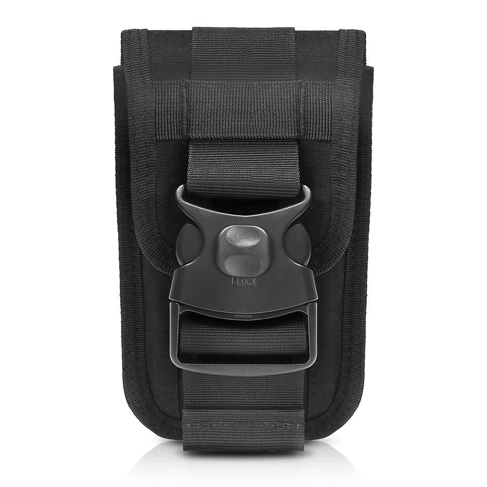 Tactical Molle Phone Holster Bag Pouch Outdoor Belt Waist EDC Bag Utility Vest Card Carrier Bag Multi-function Travel Pack