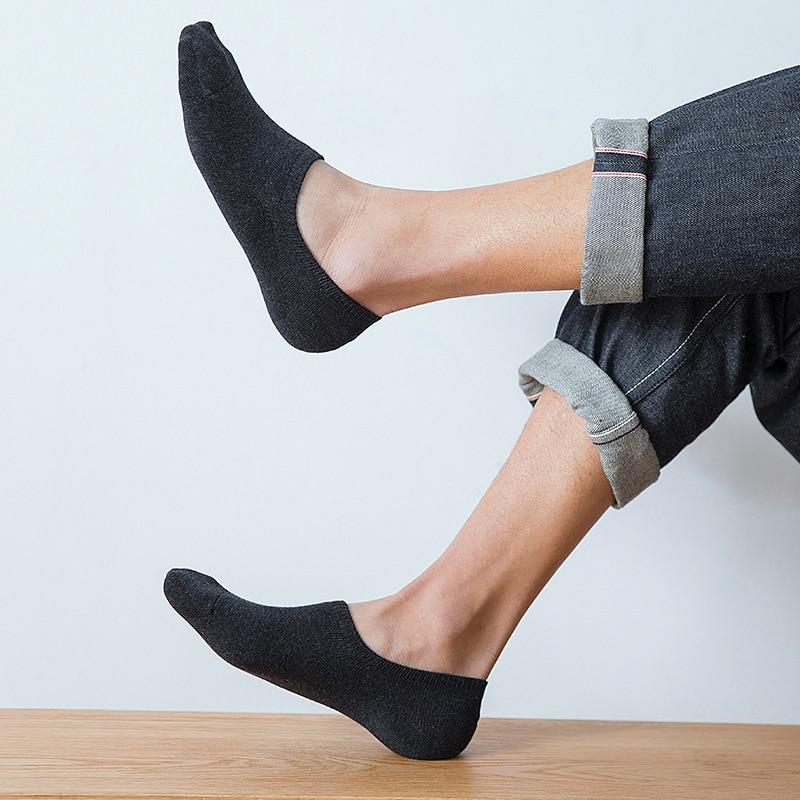 Successful nan shi wa Men's Socks Socks Deodorant Sweat Absorbent Cotton Man's Boat Socks Summer to Help Low Low-Top Socks men fight color wide stripes help low boat socks cotton socks socks wholesale trade 200n