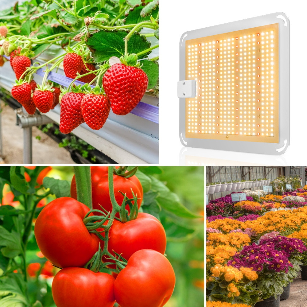 Brand New Indoor Plant Fill Light High Power Plant Light 1000W Dual Control LED Plant Light Greenhouse Plant Growth Light enlarge