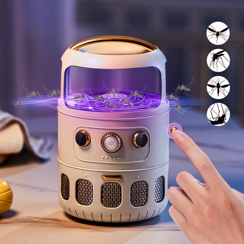 Lámpara antimosquitos de descarga eléctrica, trampa antimosquitos USB para moscas, matamoscas, trampa...