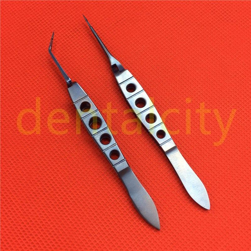 Aleación de titanio Akahoshi Phaco Prechopper instrumento de microcirugía oftálmica