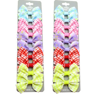 20PCS/Lot Lovely Piece Flowers Hairpins Grosgrain Ribbon Bows Clips 2020 Korean Creativity Hair Accessories For Baby Girls NEW