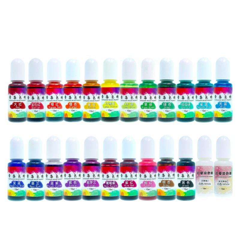 Producto en oferta, 2020, 24 colores, epoxi, líquido de pigmento colorante, tinta de difusión, resina, fabricación de joyas