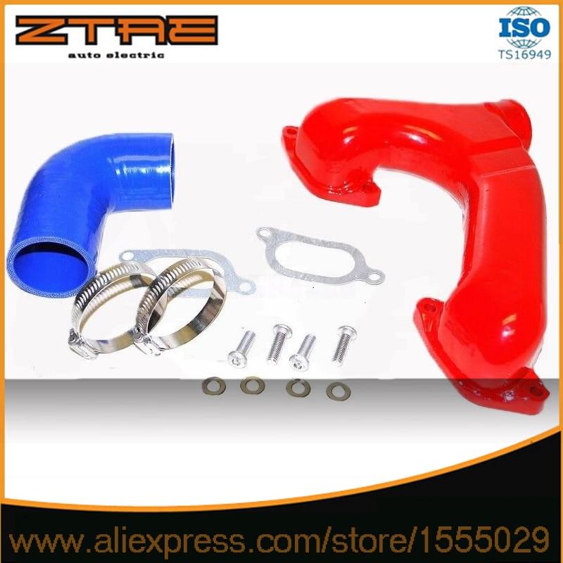 Para 2002-2007 Sub @ ru impresz @ WRX montaje superior Intercooler Y pipe