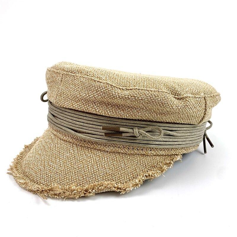 De las mujeres griegas pescador marinero de gorras estilo vendedor de periódicos Ivy vendedor marinero violinista de repartidor de periódicos Gatsby taxista pintor gorra boina sombreros
