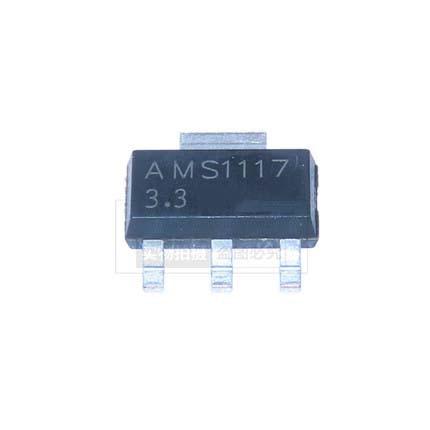 20PCS / lote AMS1117-3.3 AZ1117D-3.3EI TO-252 Regulador de tensão IC