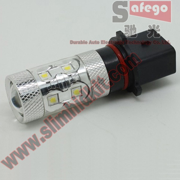 Safego 1 piece 60W High Quality P13 9006 HB4 LED Fog Light Auto LED Fog Lamp DC 12V 24V White Car Light Source Fog Lights