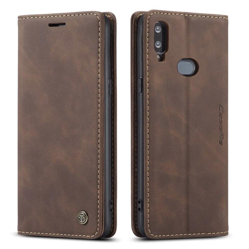 Caso de couro para samsung galaxy m31 caso carteira flip book negócios ímã telefone sacos capa para samsung m21 m10s slot para cartão titular