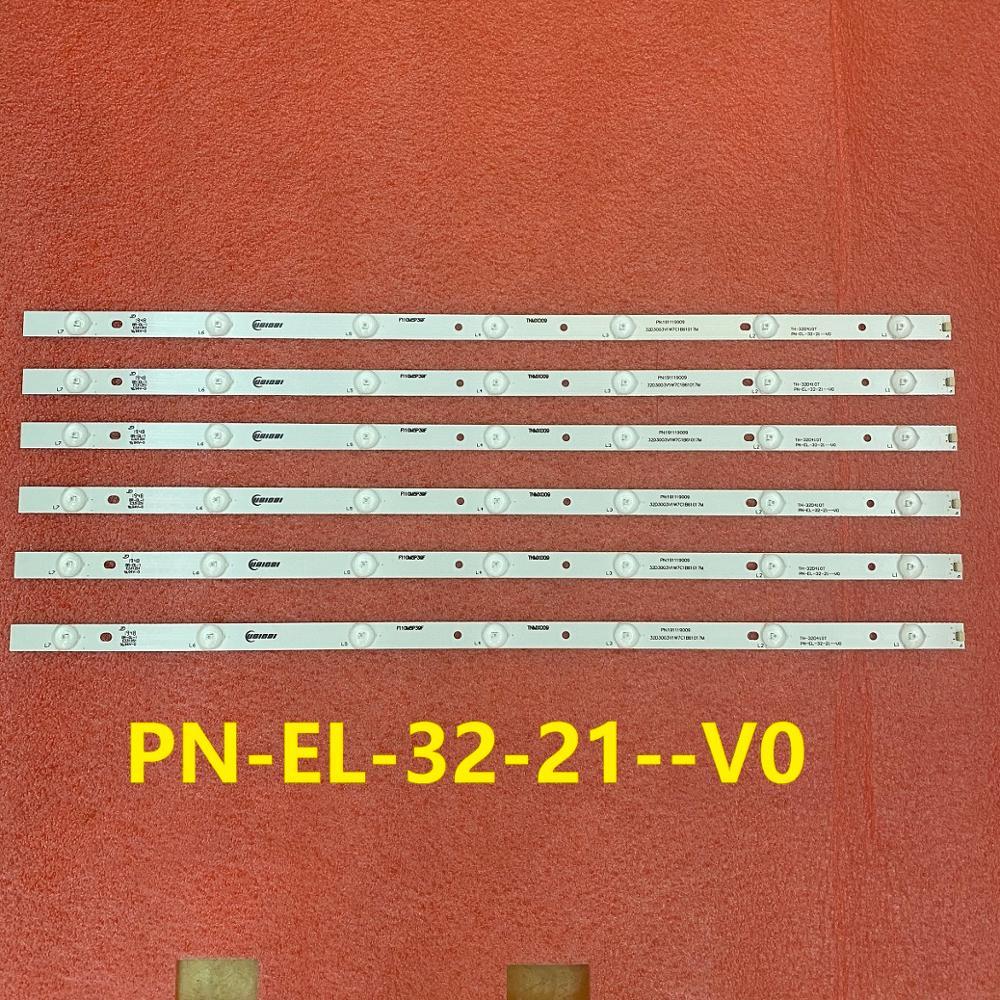 15 قطعة/الوحدة LED الخلفية قطاع لباناسونيك TX-32ES400B TX-32FS500B TX-32CS510B TX-32DS500E TH-32D410T PN-EL-32-21--V0 TNMX009