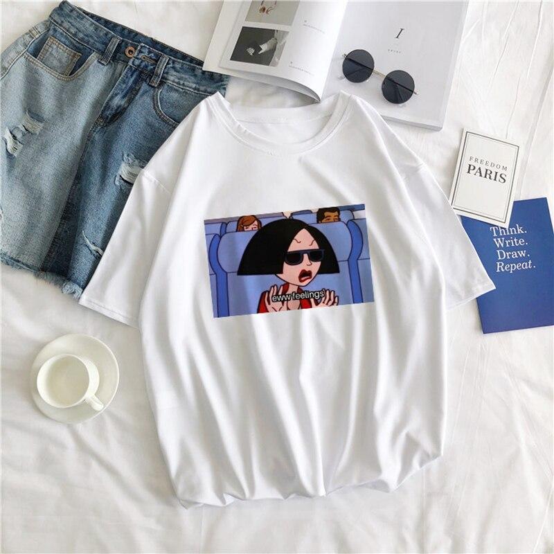 Женская футболка с короткими рукавами, Повседневная Свободная футболка с принтом в виде пятнистых букв Eww, Ulzzang, Ulzzang